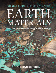 Cover of the book Earth Materials 2nd Edition