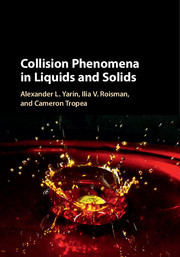 Cover of the book Collision Phenomena in Liquids and Solids