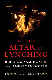 Cover of the book At the Altar of Lynching