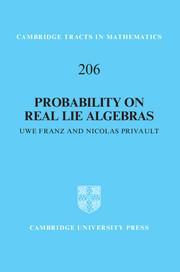 Couverture de l'ouvrage Probability on Real Lie Algebras