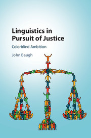 Cover of the book Linguistics in Pursuit of Justice