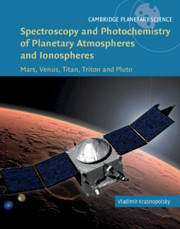 Cover of the book Spectroscopy and Photochemistry of Planetary Atmospheres and Ionospheres