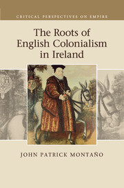 Cover of the book The roots of english colonialism in ireland