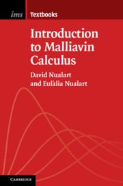 Couverture de l'ouvrage Introduction to Malliavin Calculus