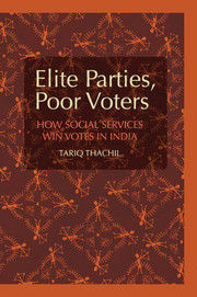 Cover of the book Elite Parties, Poor Voters