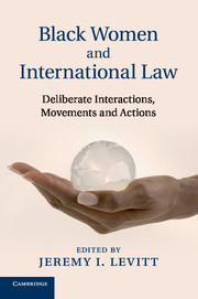 Cover of the book Black Women and International Law