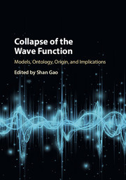 Cover of the book Collapse of the Wave Function