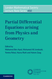 Cover of the book Partial Differential Equations arising from Physics and Geometry