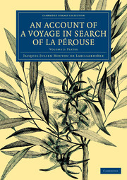 Couverture de l'ouvrage An Account of a Voyage in Search of La Pérouse: Volume 3, Plates