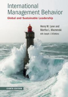 Couverture de l'ouvrage International Management Behavior