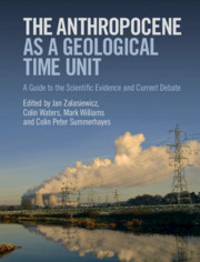 Cover of the book The Anthropocene as a Geological Time Unit
