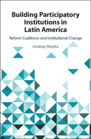 Couverture de l'ouvrage Building Participatory Institutions in Latin America
