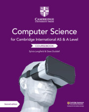 Cover of the book Cambridge International AS and A Level Computer Science Coursebook