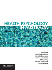 Couverture de l'ouvrage Health Psychology in Australia