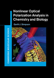 Cover of the book Nonlinear Optical Polarization Analysis in Chemistry and Biology