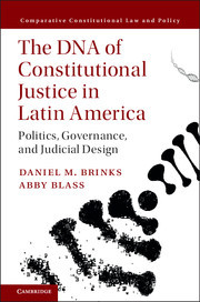 Cover of the book The DNA of Constitutional Justice in Latin America