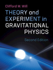 Cover of the book Theory and Experiment in Gravitational Physics