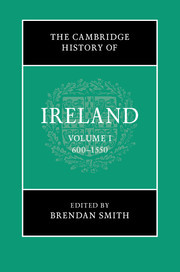 Cover of the book The Cambridge History of Ireland: Volume 1, 600-1550