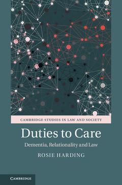 Couverture de l'ouvrage Duties to Care