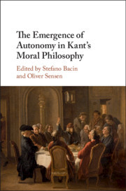 Couverture de l'ouvrage The Emergence of Autonomy in Kant's Moral Philosophy