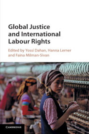 Couverture de l'ouvrage Global Justice and International Labour Rights