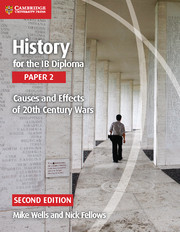 Couverture de l'ouvrage History for the IB Diploma Paper 2 Causes and Effects of 20th Century Wars
