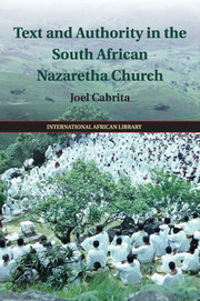 Couverture de l'ouvrage Text and Authority in the South African Nazaretha Church