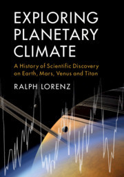 Cover of the book Exploring Planetary Climate