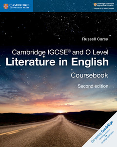 Cover of the book Cambridge IGCSE® and O Level Literature in English Coursebook