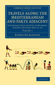 Cover of the book Travels along the Mediterranean and Parts Adjacent