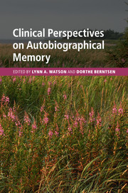 Couverture de l'ouvrage Clinical Perspectives on Autobiographical Memory