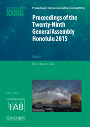Cover of the book Proceedings of the Twenty-Ninth General Assembly Honolulu 2015