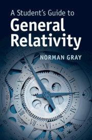 Cover of the book A Student's Guide to General Relativity