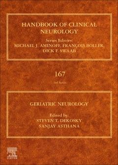 Couverture de l'ouvrage Geriatric Neurology