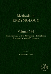 Cover of the book Enzymology at the Membrane Interface: Intramembrane Proteases