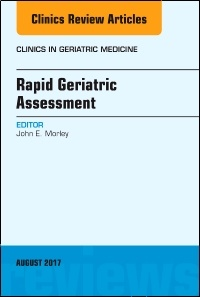 Couverture de l'ouvrage Rapid Geriatric Assessment, An Issue of Clinics in Geriatric Medicine