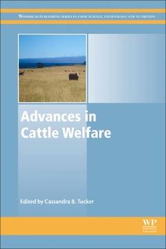Couverture de l'ouvrage Advances in Cattle Welfare