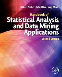 Cover of the book Handbook of Statistical Analysis and Data Mining Applications