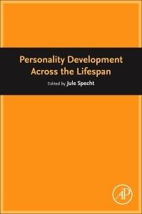 Couverture de l'ouvrage Personality Development Across the Lifespan