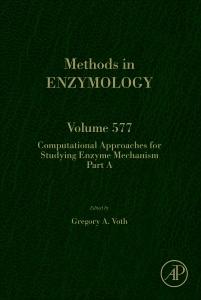 Couverture de l'ouvrage Computational Approaches for Studying Enzyme Mechanism Part A
