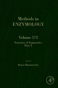 Cover of the book Enzymes of Epigenetics