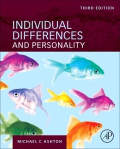Couverture de l'ouvrage Individual Differences and Personality
