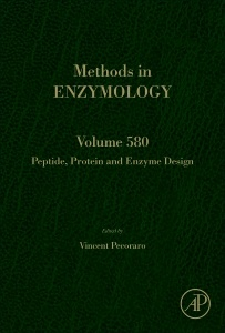 Cover of the book Peptide, Protein and Enzyme Design
