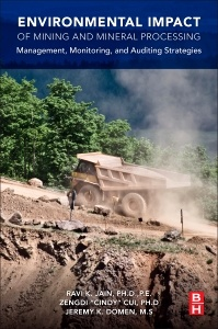 Couverture de l'ouvrage Environmental Impact of Mining and Mineral Processing