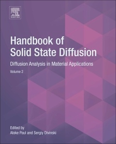 Couverture de l'ouvrage Handbook of Solid State Diffusion: Volume 2