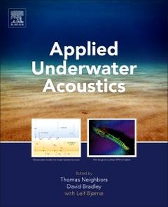 Couverture de l'ouvrage Applied Underwater Acoustics