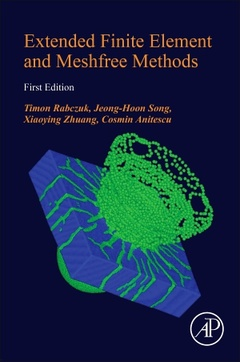 Cover of the book Extended Finite Element and Meshfree Methods