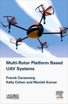 Couverture de l'ouvrage Multi-rotor Platform Based UAV Systems