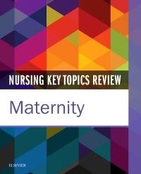 Couverture de l'ouvrage Nursing Key Topics Review: Maternity