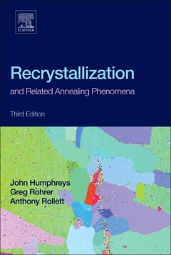 Couverture de l'ouvrage Recrystallization and Related Annealing Phenomena